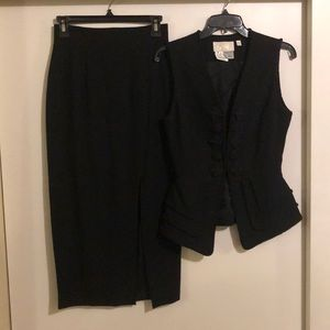 Cache Vest and Skirt
